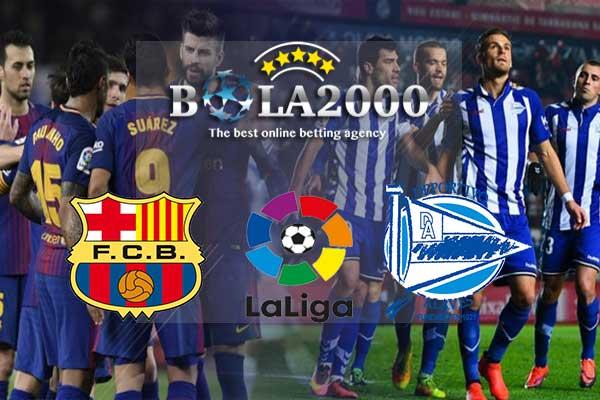 Prediksi Bola Akurat Barcelona vs Alaves 29 Januari 2018