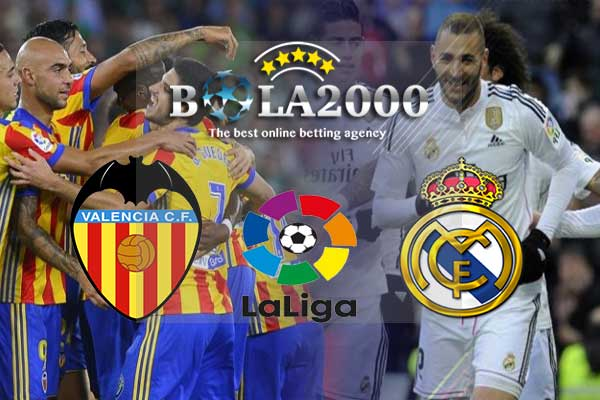 Prediksi Bola Liga Spanyol Valencia vs Real Madrid 27 Januari 2018