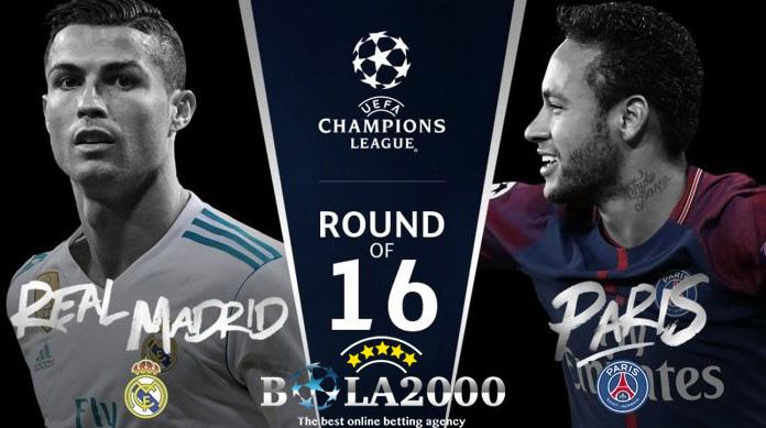 Prediksi Bola Liga Champions Real Madrid vs PSG 15 Feb 2018
