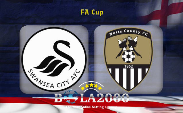Prediksi Skor Bola Jitu Swansea City vs Notts County 7 February 2018