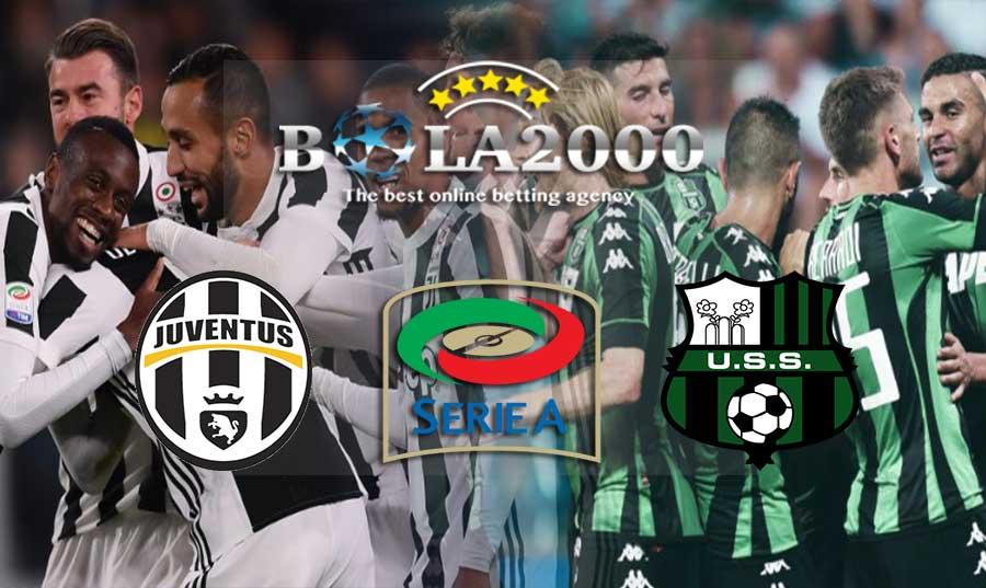 Prediksi Skor Bola Juventus vs Sassuolo 04 Februari 2018