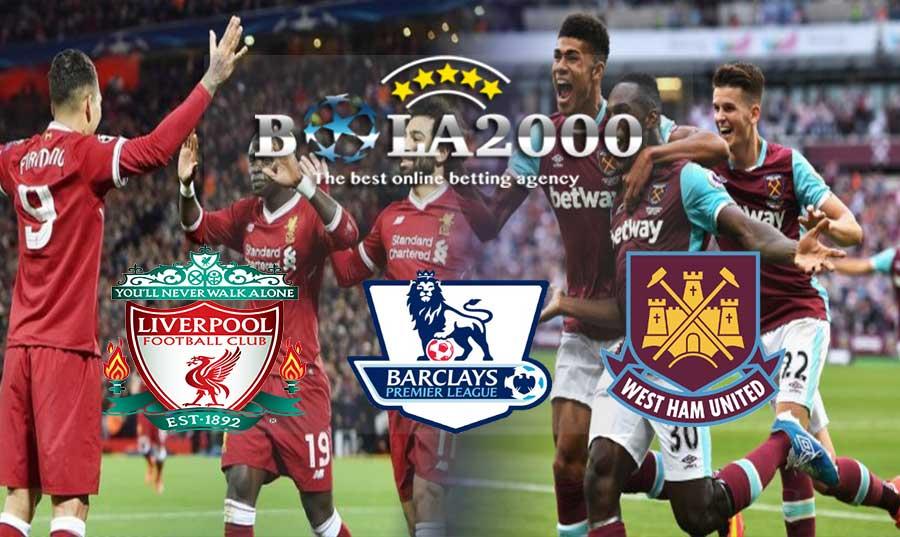 Prediksi Bola Liverpool vs West Ham 24 Februari 2018