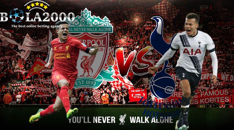 Prediksi Bola Liga Inggris Liverpool vs Tottenham Hotspur 4 Februari 2018