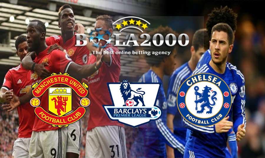 Prediksi Bola Liga Inggris Manchester United vs Chelsea 25 Februari 2018