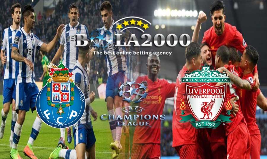 Prediksi Bola Liga Champions FC Porto vs Liverpool 15 Februari 2018