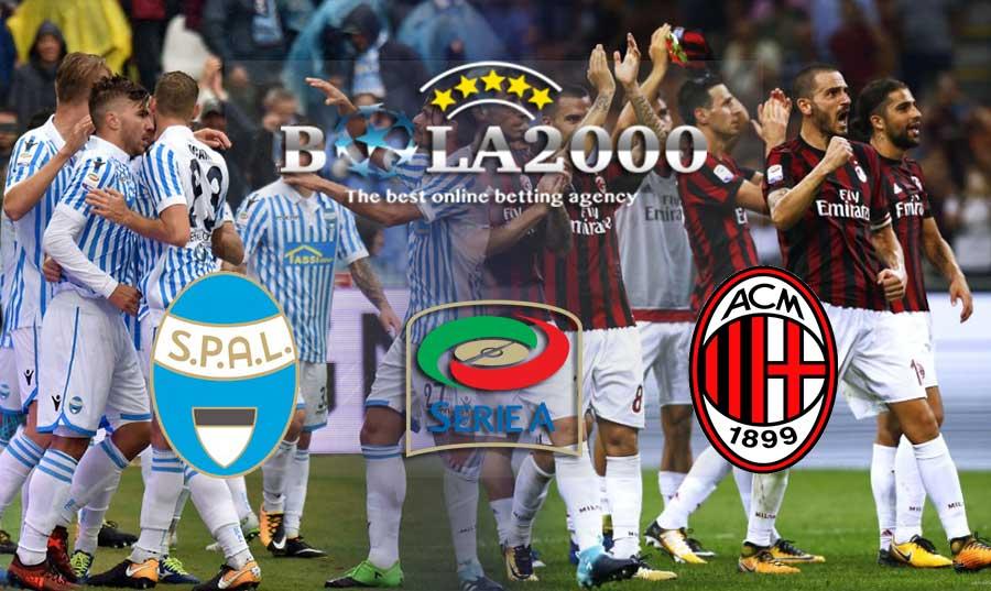 Prediksi Bola Liga Italia SPAL 2013 vs AC Milan 10 Februari 2018