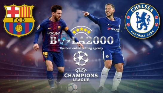 Prediksi Bola Liga Champions Barcelona vs Chelsea 15 Mar' 2018
