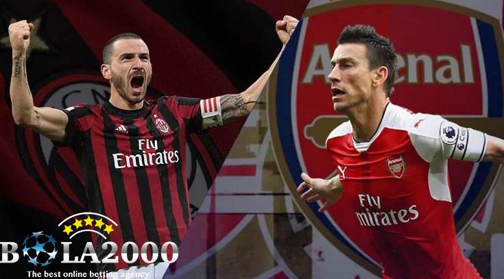 Prediksi Bola Paling Jitu AC Milan vs Arsenal 9 Mar' 2018