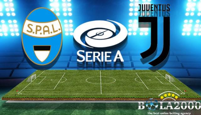 Prediksi Bola Liga Italy SPAL vs Juventus 18 Mar' 2018