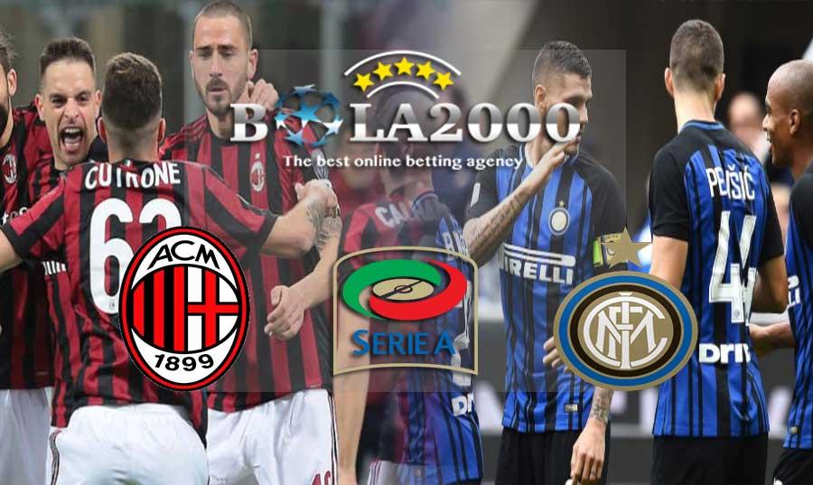 Prediksi Bola 05 Maret 2018 AC Milan vs Inter