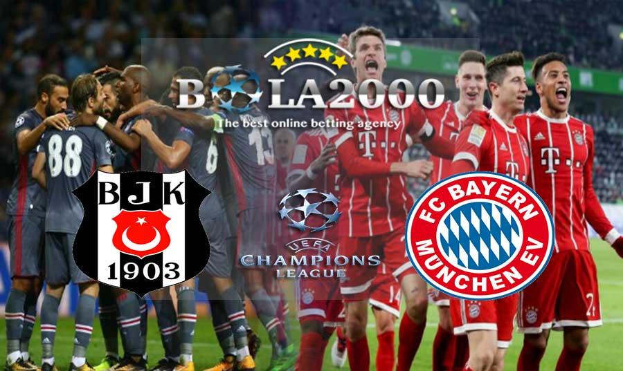 Prediksi Bola 15 Maret 2018 Liga Champions Besiktas vs Bayern Munich