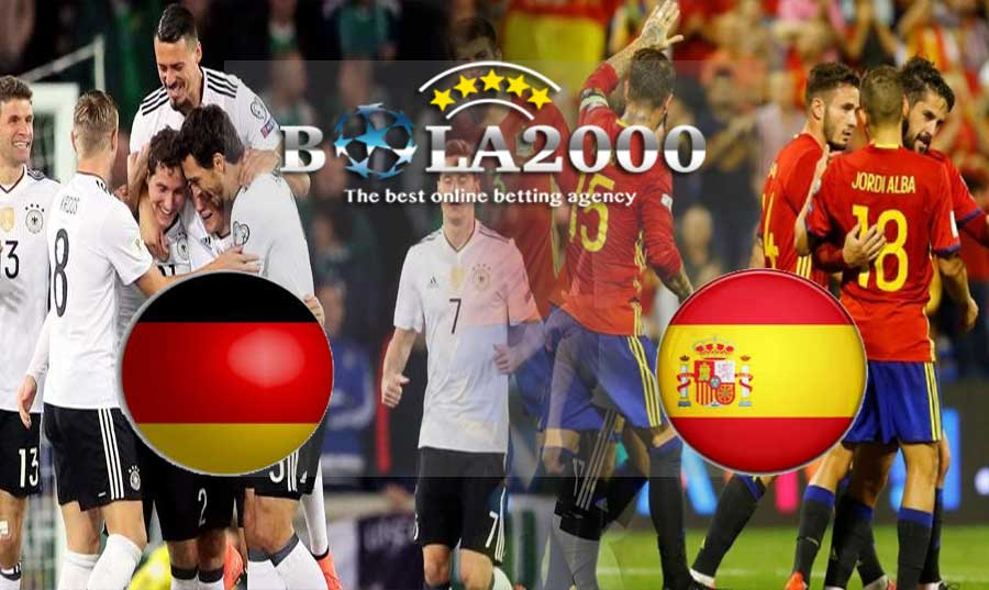 Prediksi Bola 24 Maret 2018 Jerman vs Spanyol