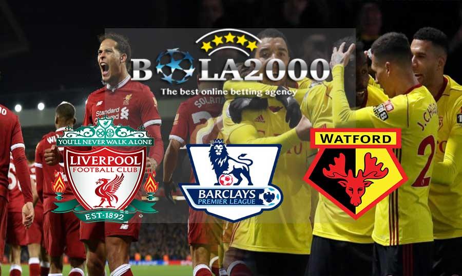 Prediksi Bola 18 Maret 2018 Liga Inggris Liverpool vs Watford