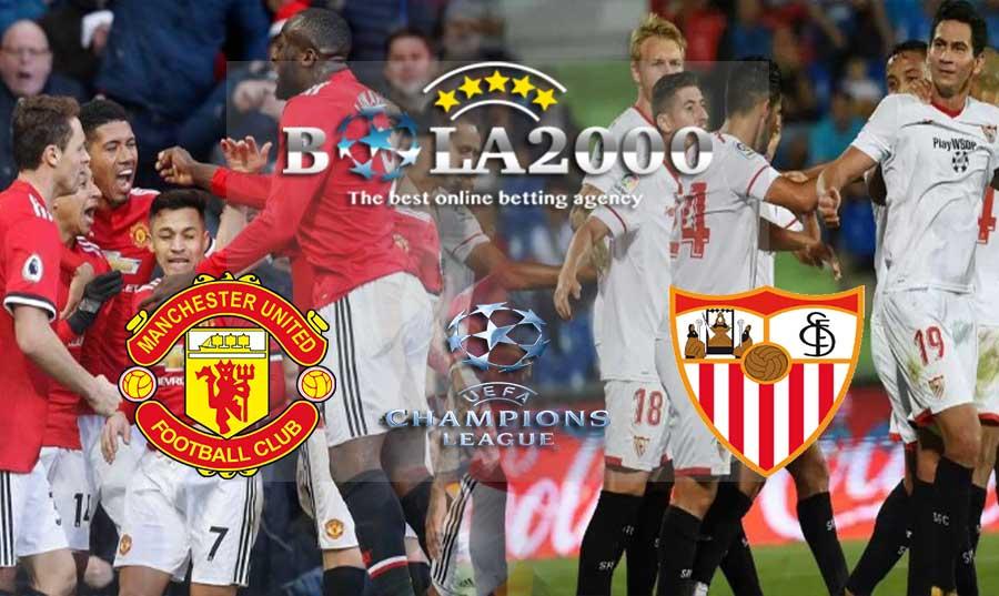 Prediksi Bola 14 Maret 2018 Manchester United vs Sevilla