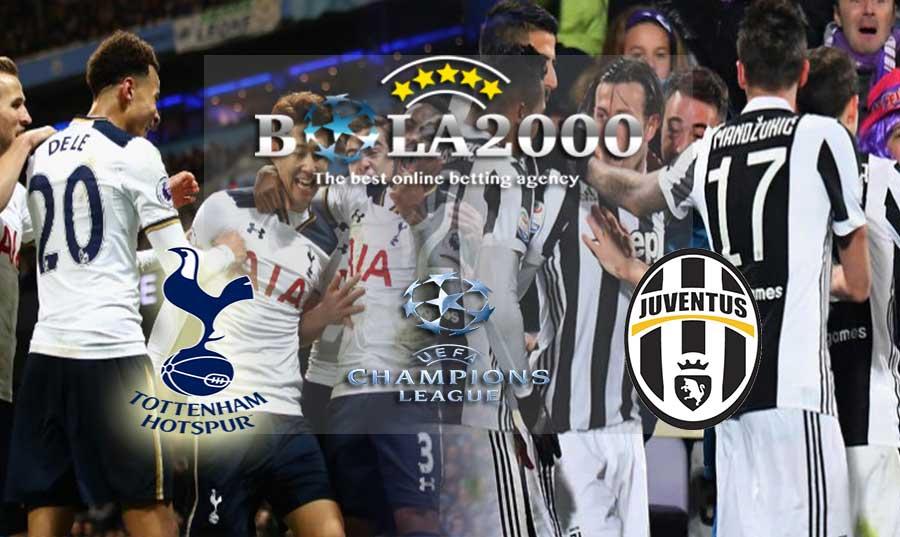 Prediksi Bola 08 Maret 2018 Liga Champions Tottenham vs Juventus
