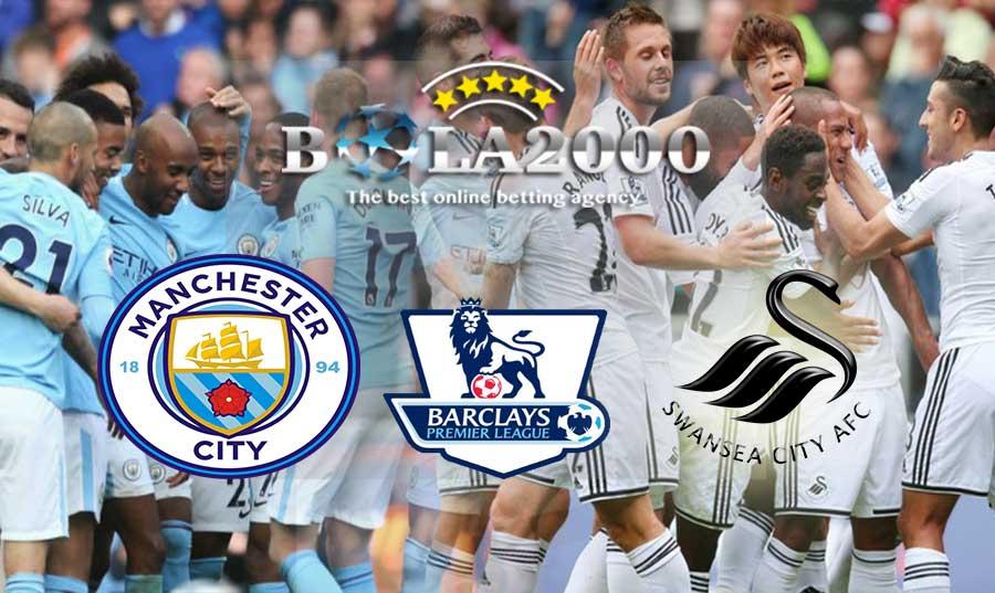 Prediksi Bola 22 April 2018 Liga Inggris Manchester City vs Swansea City