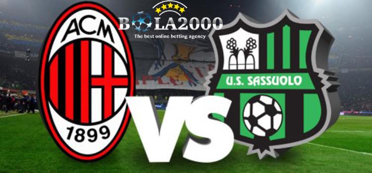 Prediksi Skor Bola AC Milan vs Sassuolo 9 Apr' 2018