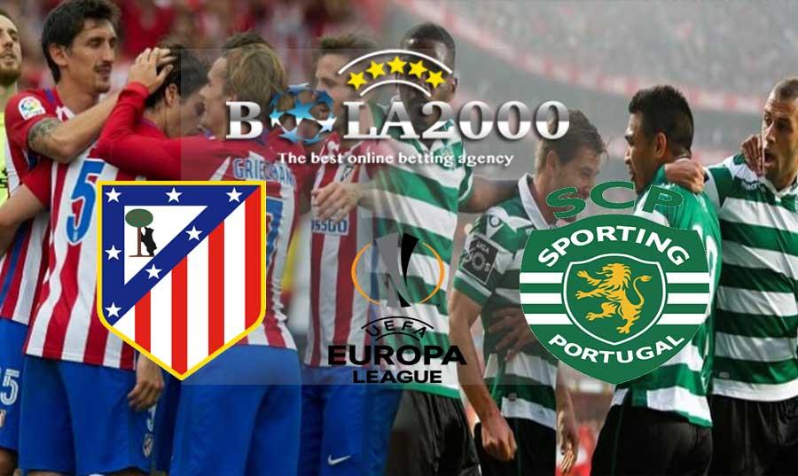 Prediksi Bola 06 April 2018 Liga Europa Atletico Madrid vs Sporting