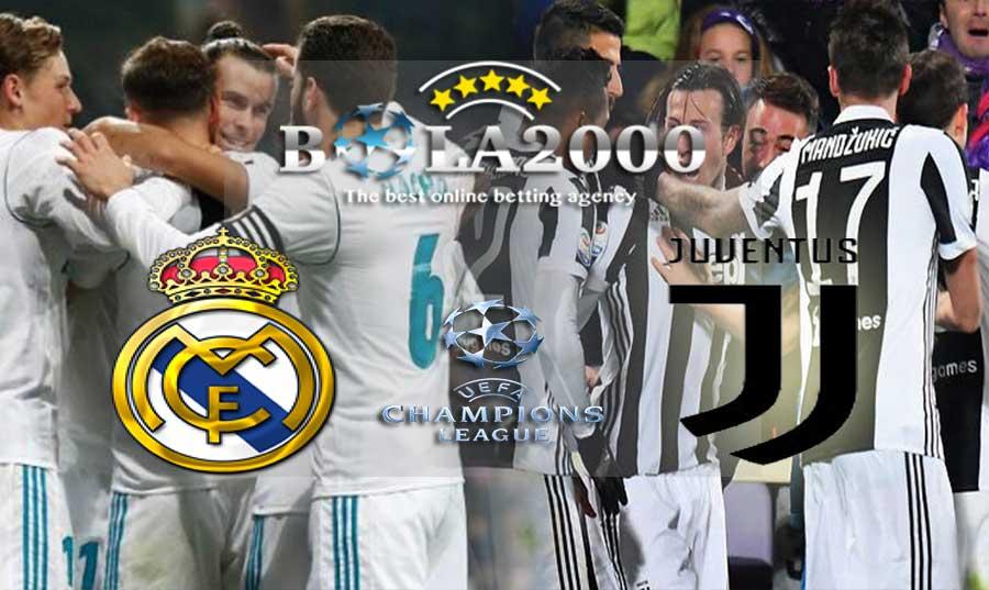 Prediksi Bola 12 April 2018 Liga Champions Real Madrid vs Juventus