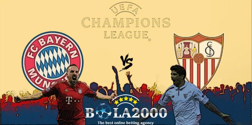 Prediksi Bola Bayern Munchen vs Sevilla 12 Apr' 2018