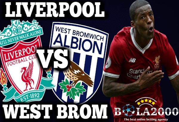 Prediksi Bola Liverpool vs West Bromwich Albion 28 Januari 2018