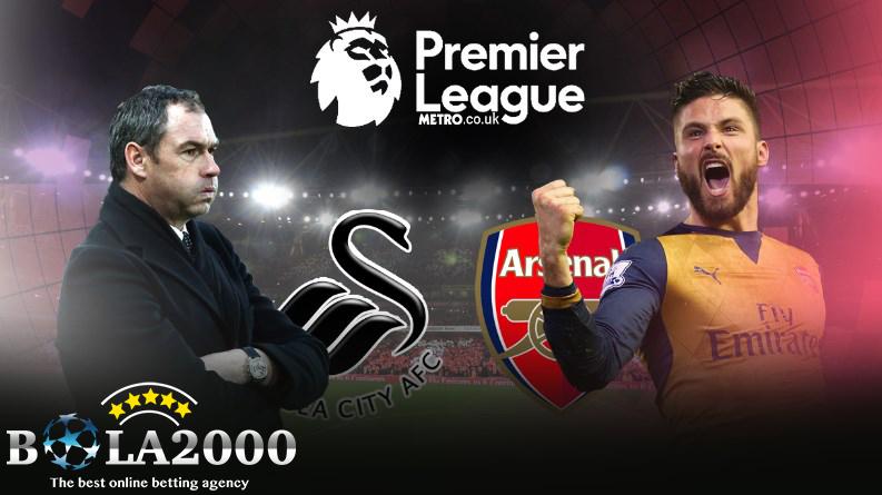Prediksi Bola Liga Inggris Swansea City vs Arsenal 31 Januari 2018