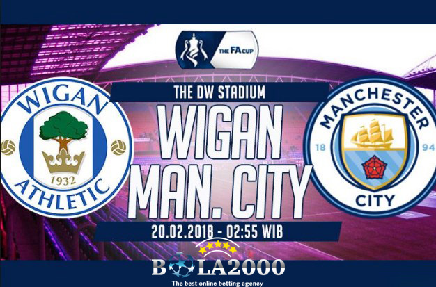 Prediksi Bola Wigan Athletic vs Manchester City 20 Feb 2018