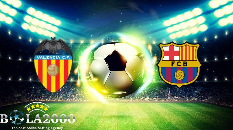Prediksi Bola Copa Del Rey Valencia vs Barcelona 9 Februari 2017