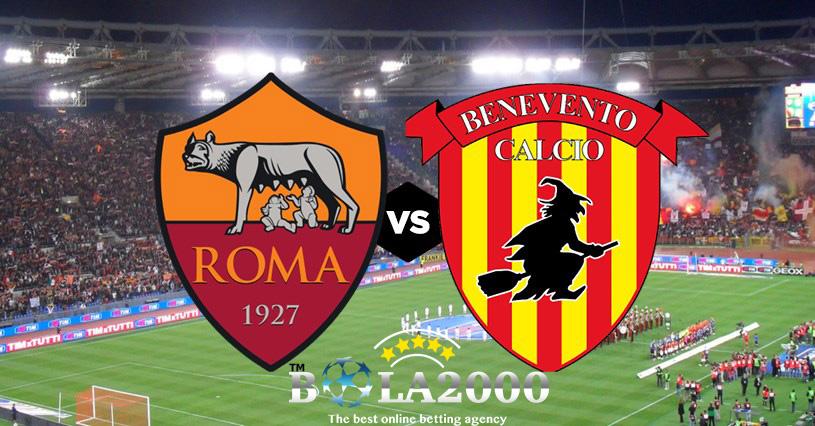 Prediksi Skor As Roma vs Benevento 12 Februari 2018