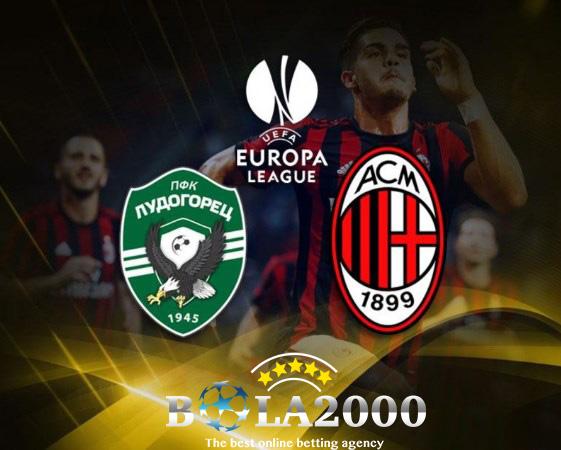 Prediksi Skor Bola Ludogorets vs AC Milan 16 Feb 2018