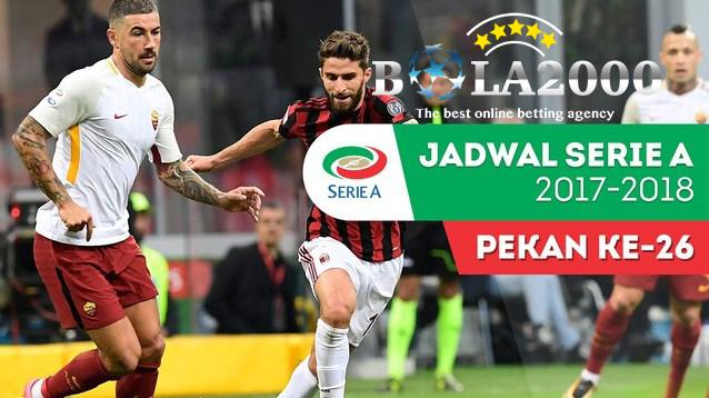 Prediksi Bola Liga Italy AS Roma vs AC Milan 26 Feb 2018