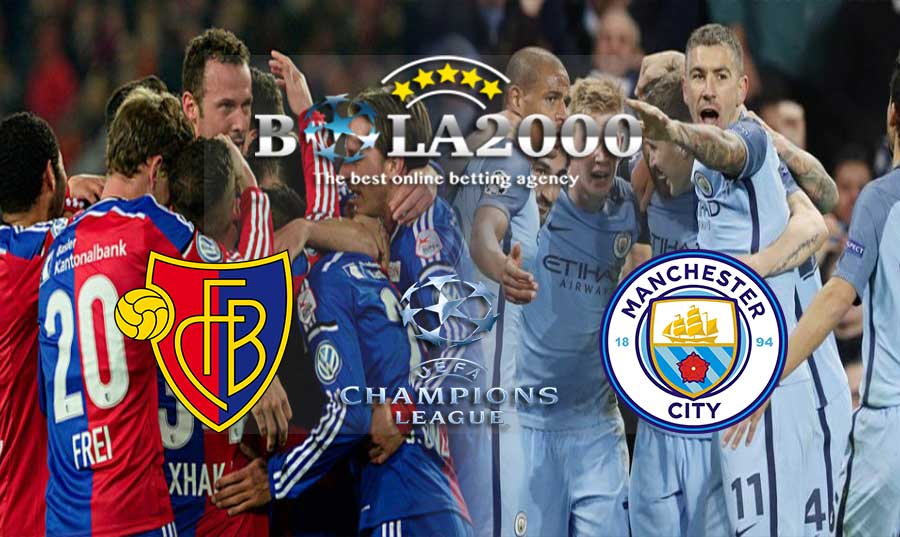 Prediksi Bola Liga Champion Basel vs Manchester City