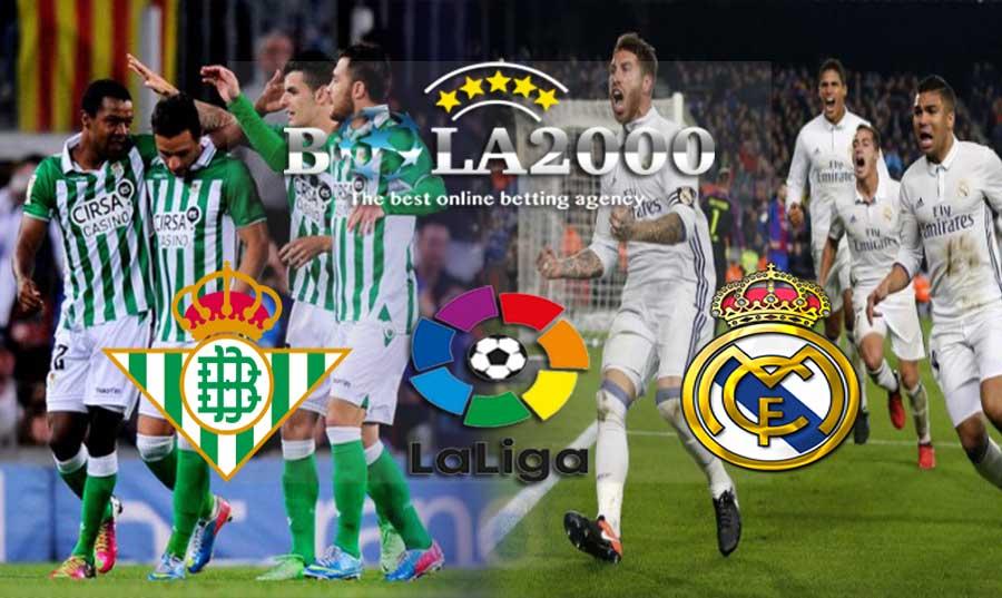 Prediksi Bola Real Betis vs Real Madrid 19 Februari 2018