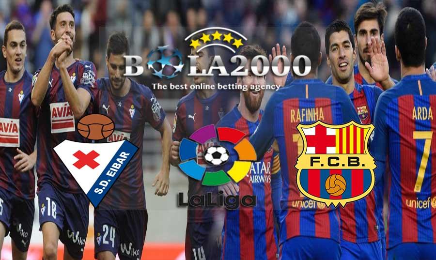 Prediksi Bola Liga Spanyol Eibar vs Barcelona 17 Februari 2018