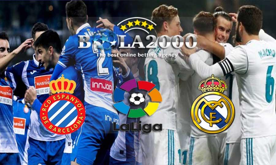 Prediksi Bola Espanyol vs Real Madrid 28 Februari 2018