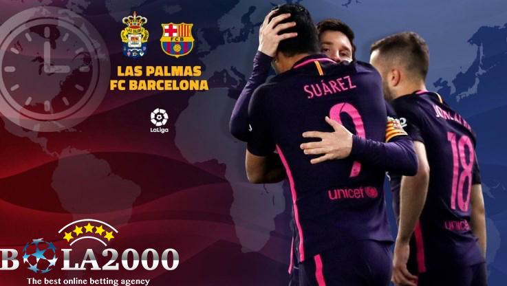 Prediksi Bola Las Palmas vs Barcelona 2 Mar' 2018