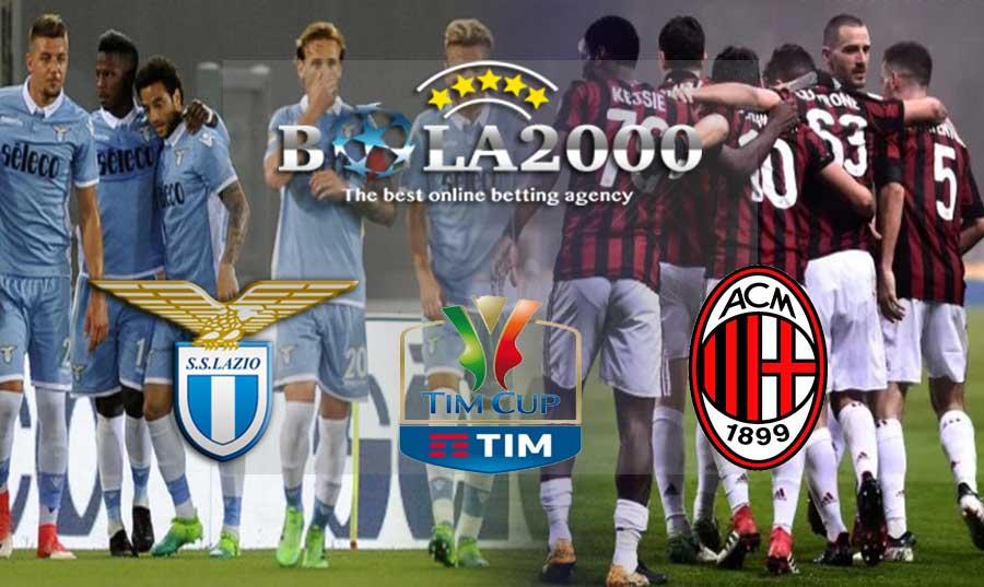 Prediksi Bola Coppa Italia Lazio vs AC Milan 01 Maret 2018