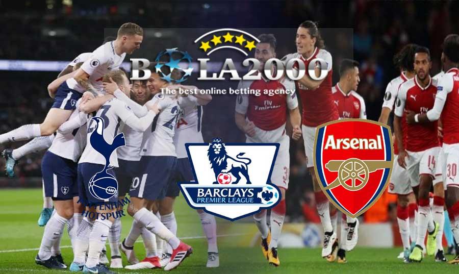 Prediksi Bola Liga Inggris Tottenham vs Arsenal 10 Februari 2018