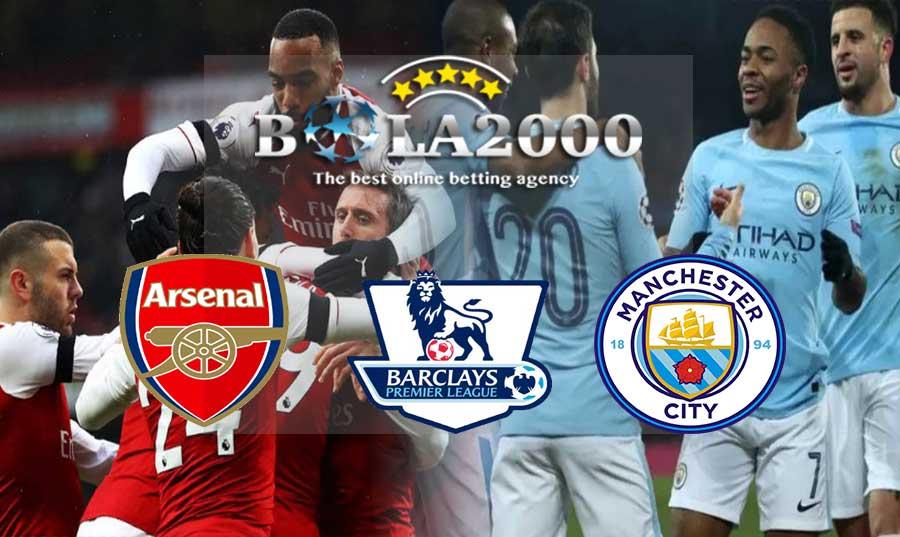 Prediksi Bola Arsenal vs Manchester City 02 Maret 2018