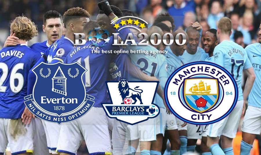 Prediksi Bola 31 Maret 2018 Liga Inggris Everton vs Manchester City
