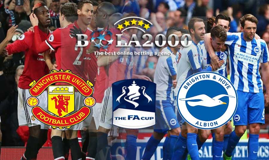 Prediksi Bola 18 Maret 2018 FA Cup Manchester United vs Brighton
