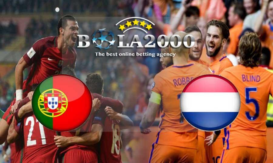 Prediksi Bola 27 Maret 2018 Portugal vs Belanda
