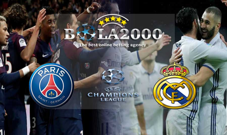 Prediksi Bola 07 Maret 2018 Liga Champions PSG vs Real Madrid
