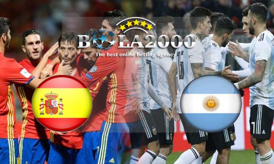 Prediksi Bola 28 Maret 2018 Spanyol vs Argentina