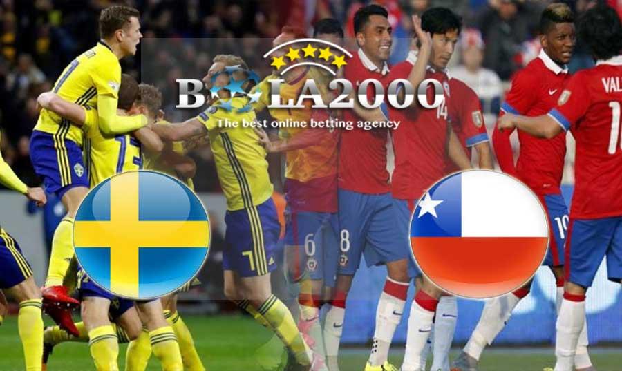 Prediksi Bola 25 Maret 2018 Sweden vs Chile