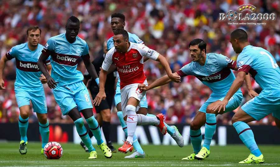 Prediksi Jitu Arsenal vs West Ham 22 April 2018