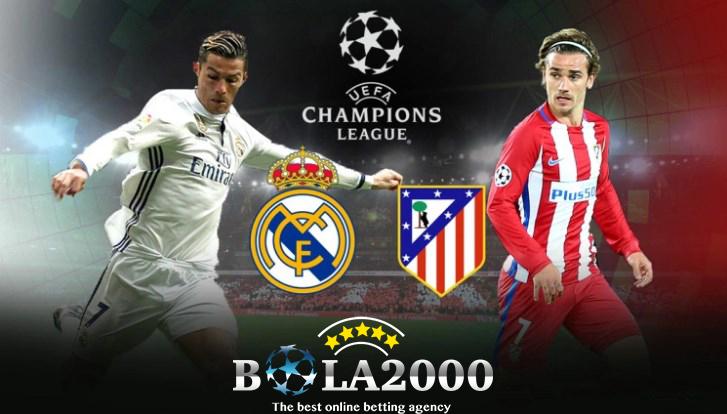 Prediksi Skor Bola Real Madrid vs Atletico Madrid 8 Apr' 2018
