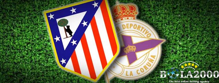 Prediksi Bola Atletico Madrid vs Deportivo La Coruna 2 Apr 2018