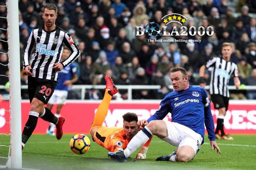Wayne Rooney dan Pemain Newcastle United