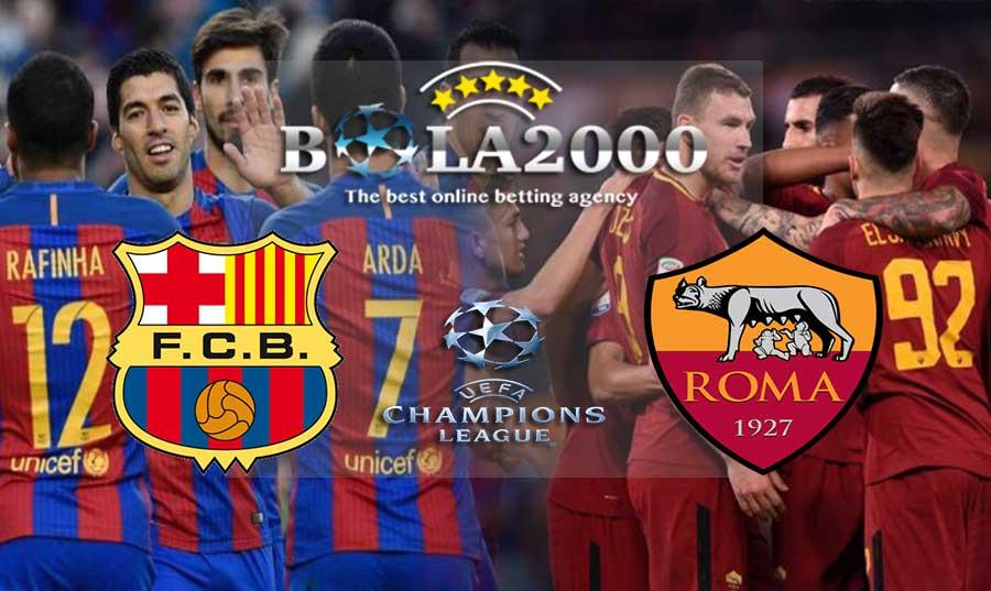 Prediksi Bola 05 April 2018 Liga Champions Barcelona vs AS Roma
